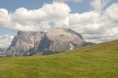Alm di Seiser, Tirolo del sud, Italia Immagini Stock Libere da Diritti