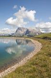 Alm di Seiser, Tirolo del sud, Italia Fotografia Stock Libera da Diritti