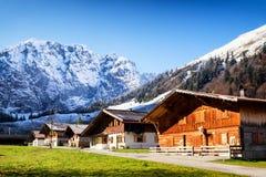Alm inglese in Austria Immagini Stock