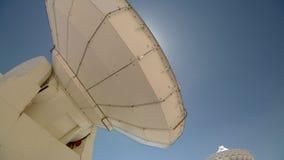 ALMA astronomy site at San Pedro de Atacama, Antofagasta Region / Chile. Science site ALMA, radio astronomy dishes on the Chajnantor stock footage