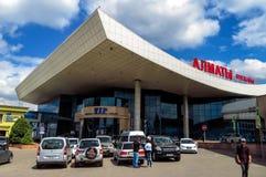 Alma Ata - Luchthaven van Alma Ata Royalty-vrije Stock Afbeeldingen