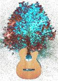 A alma da música ilustração do vetor