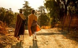 A alma de povos de Lesoto Fotografia de Stock