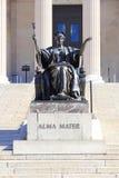 Alma Mater en la Universidad de Columbia Fotografía de archivo libre de regalías
