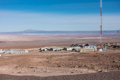 ALMA Observatory, Atacama desert, Chile Royalty Free Stock Photo