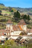 Alma Vii, chiesa fortificata evangelica Fotografie Stock Libere da Diritti