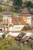Alma Vii, chiesa fortificata evangelica Immagini Stock Libere da Diritti