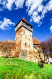 Alma Vii church, Transylvania, Romania Stock Image
