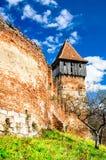 Alma Vii church, Transylvania, Romania Royalty Free Stock Image