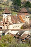 Alma Vii, Evangelical fortified church Royalty Free Stock Images