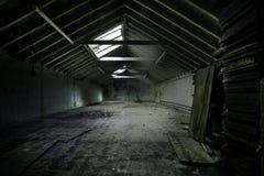 Almacén abandonado Imagen de archivo libre de regalías
