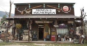 Almacén americano de la vendimia Fotos de archivo libres de regalías