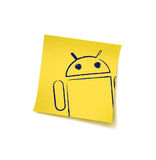 Almacén androide imagen de archivo