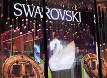Almacén de buque insignia de Swarovski Imagen de archivo