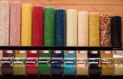 Almacén de caramelo Fotos de archivo