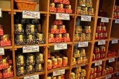 Almacén de caramelo Imágenes de archivo libres de regalías
