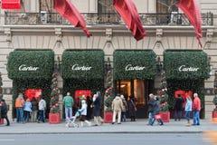 Almacén de Cartier en la Quinta Avenida New York City Fotografía de archivo libre de regalías
