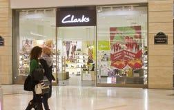 Almacén de Clarks Foto de archivo libre de regalías