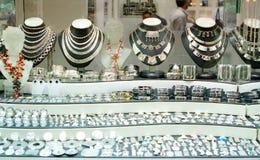 Almacén de joyería Imágenes de archivo libres de regalías