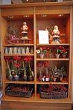 Almacén de la decoración del día de fiesta de la Navidad Imagen de archivo