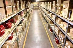 Almacén de la fábrica Fotos de archivo libres de regalías