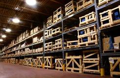 Almacén de la fábrica. Fotos de archivo