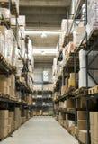 Almacén de la fábrica Imágenes de archivo libres de regalías