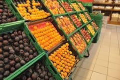Almacén de la fruta Fotografía de archivo libre de regalías