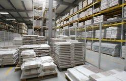 Almacén de madera Imágenes de archivo libres de regalías