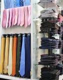 Almacén de ropa. Foto de archivo libre de regalías