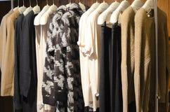 Almacén de ropa Foto de archivo
