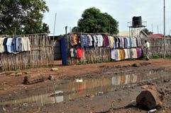 Almacén de ropa en Sudán del sur Imágenes de archivo libres de regalías
