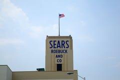 Almacén de Sears Fotos de archivo libres de regalías