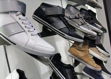 Almacén de zapato Foto de archivo