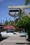 Almacén del centro turístico Fotografía de archivo