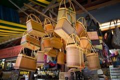 Almacén del recuerdo en Siem Reap Fotos de archivo libres de regalías
