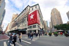 Almacén grande de Macy, NYC Foto de archivo