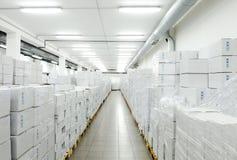 Almacén industrial Imágenes de archivo libres de regalías