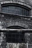 Almacén viejo de la fábrica Fotografía de archivo