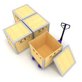 Almacenaje fotografía de archivo libre de regalías