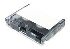 Almacenaje de datos de la cinta magnética. imagen de archivo
