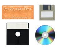 Almacenaje de datos del ordenador Foto de archivo