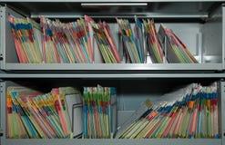 Almacenaje de fichero Fotografía de archivo
