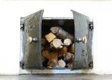 Almacenaje de madera Imagenes de archivo