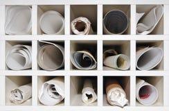 Almacenaje del agujero de la paloma imágenes de archivo libres de regalías