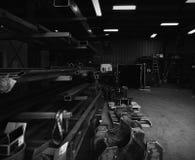 Almacenaje del almacén Foto de archivo