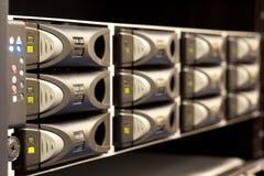 Almacenaje del servidor fotos de archivo