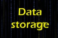 Almacenamiento de datos Foto de archivo