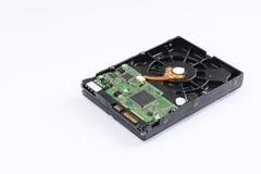 Almacenamiento de datos de la placa madre y del disco duro foto de archivo