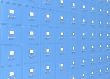 Almacenamiento de fichero. Fotos de archivo